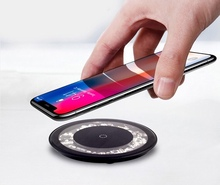 Youbina Convertible Qi Fast Wireless Charger qualcomm quick charge 3.0 transparent explorer 10W