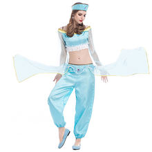 Лампа Аладдина костюм принцессы жасмин для взрослых женщин на
