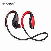 HaoXian Wireless Bluetooth Headphones Waterproof Stereo Sports Running Earphone Handsfree Headset With HD Mic For Phone