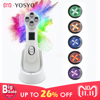 LED Photon Skin Rejuvenation EMS Mesotherapy Electroporation Facial RF Radio Frequency Skin Care Tighten Lifting Massage Machine