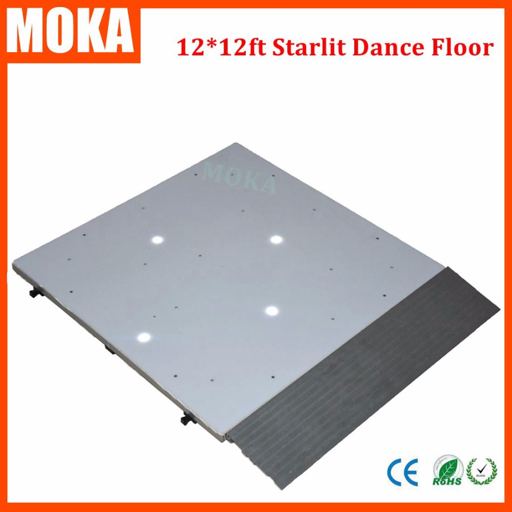 12*12 Feet led starlit dance floor light Led star panel stage wedding dance floor for dj disco bar night club stage lighting