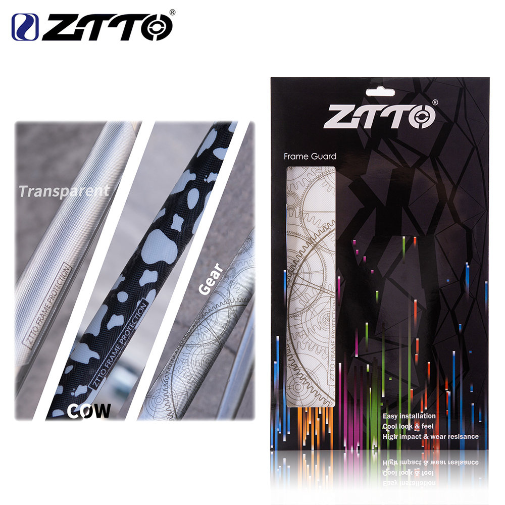 ZTTO Bicycle <font><b>Frame</b></font> <font><b>Protection</b></font> <font><b>Stickers</b></font> 3D Scratch Resistant Best Removable Glue for MTB Road <font><b>Bike</b></font> Push Guard <font><b>Frame</b></font> Cover image