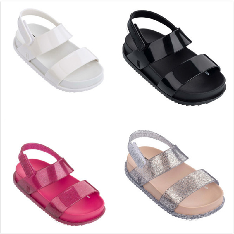 Childrens Roman Sandals Boys Shoes 2018 New Girls Jelly Shoes Summer Breathable Crystal  ...