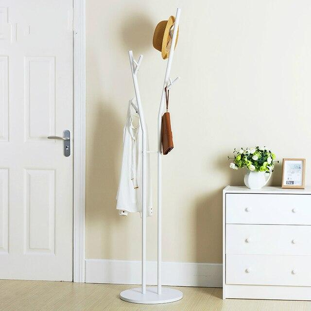 Kleiderständer Schlafzimmer einfache europäischen stil landung coatrack eisen kreative aufhänger