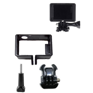 Image 1 - Standard di protezione Telaio per gli Accessori Go Pro Custodia Border + Tripod Mount Adapter + Vite per GoPro Hero 4 3 3 +