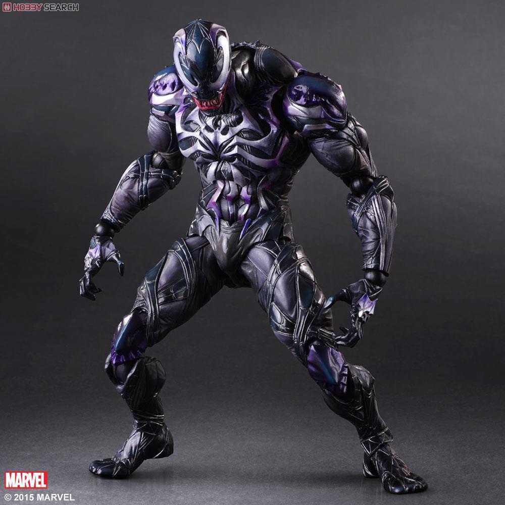 PLAY ARTS Kai MARVEL UNIVERSE VARIANT Venom Action Figure