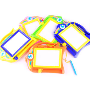 Drawing-Board-Set Magnetic Painting Doodle-Stencil Education-Toys Learning Hobbies Kids