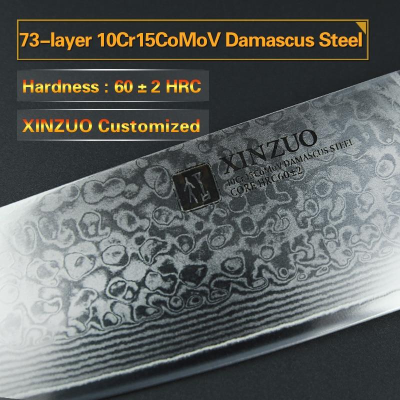 XINZUO 8 düymlük aşbaz bıçaqları Yüksək Karbon VG10 Yapon 73 - Mətbəx, yemək otağı və barı - Fotoqrafiya 3
