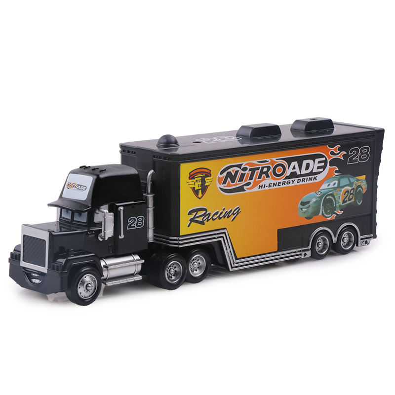 Дисней Pixar Тачки 2 3 игрушки Молния Маккуин Джексон шторм мак грузовик 1:55 литая модель автомобиля игрушка детский подарок на день рождения - Цвет: No.28