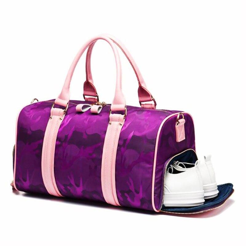 Sac de Sport confortable pour les femmes Fitness imperméable Oxford hommes sac de Sport de Sport Excursion sac à bandoulière de stockage sacs de Sport