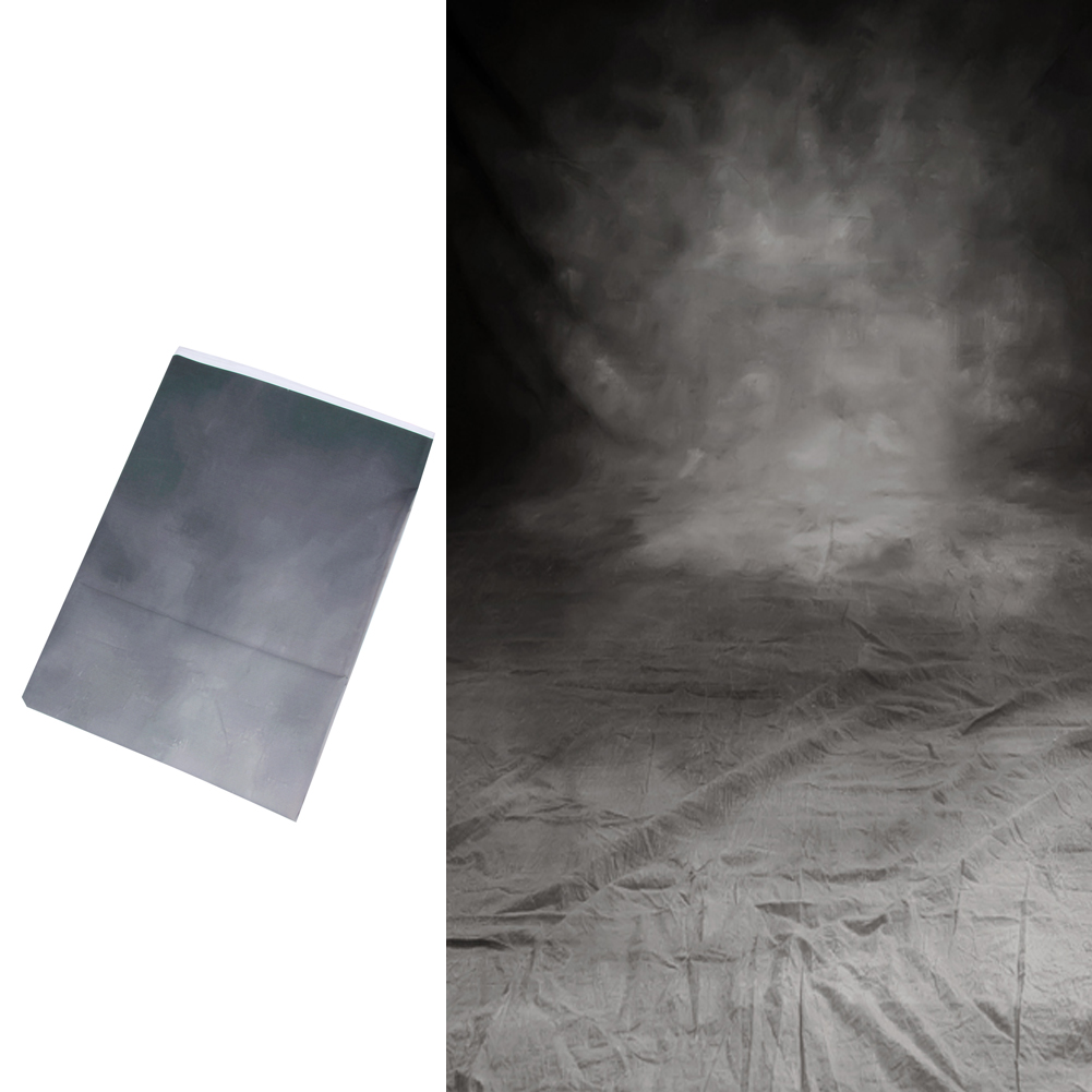 5x7FT Gris Noir Rétro Vinyle Studio Photo Toile de Fond Photographie Props Fond Pour la photographie parties bars