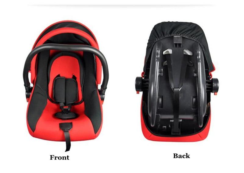 2017 Brand Newbore Cradle Bil Säkerhetssäten Justerbar Baby Car - Barnsäkerhet - Foto 6