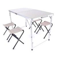 Офисный стол портативный походный стол открытый золотой алюминиевый сплав складной стол для пикника ультралегкие столы для туризма