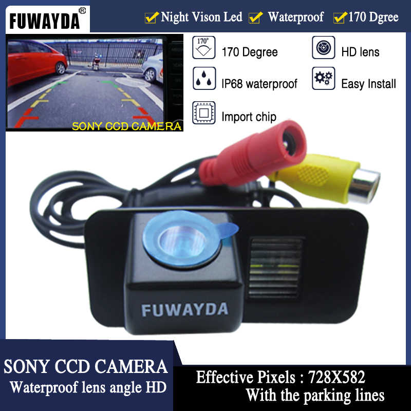 FUWAYDA SONY CCD Car Rear View Xếp Back Up Xe GPS DVD NAV CAMERA cho FORD MONDEO/FIESTA/FOCUS/S-Max/CHIA-X/KUGA