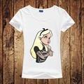 Harajuku New Women's Tshirt Cartoon Snow White Princess/Cute Animal Printed Tshirts Women/Girl Summer Casual Tee Tops Clothing