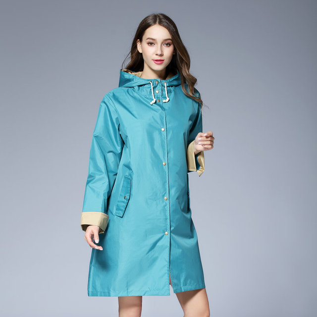 cloak Long Thin Raincoat Women Waterproof Light Rain Coat Ponchos Jackets Female Chubasqueros capa de chuva