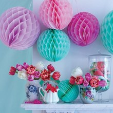 Decorative Honeycomb Paper Lanterns