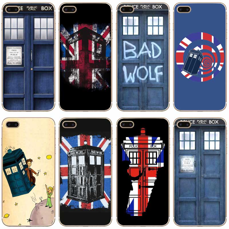 Phone Bags & Cases Yinuoda Tardis Box Doctor Who Coque Shell Phone Case For Apple Iphone 8 7 6 6s Plus X 5 Xs Xr Xsmax Half-wrapped Case