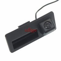 CCD Rearview Camera for Audi A4/A5/Q3/Q5 Handle Camera with HD Night Vision Waterproof Parking line Free shipping