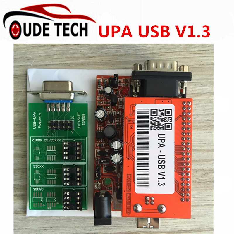 Dhl Free Shipping Upa Usb V 1 3 Auto Ecu Programmers 25 Adapters Car Diagnostic font