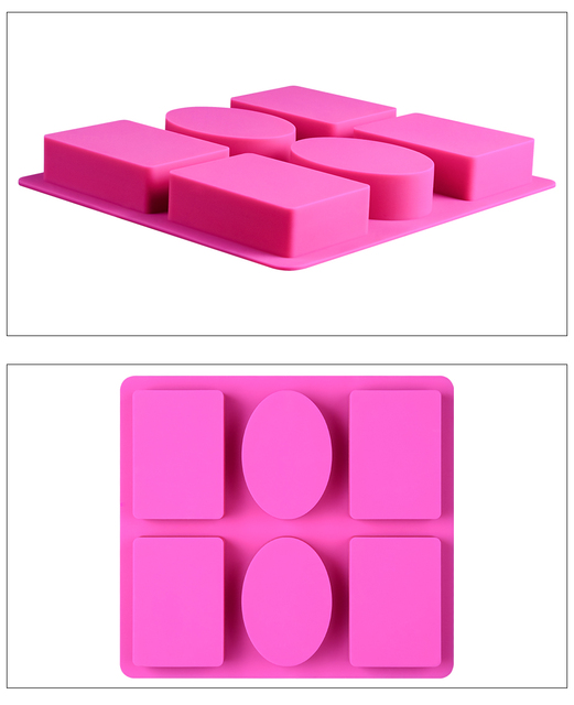 Silicone Mold for Soap Making