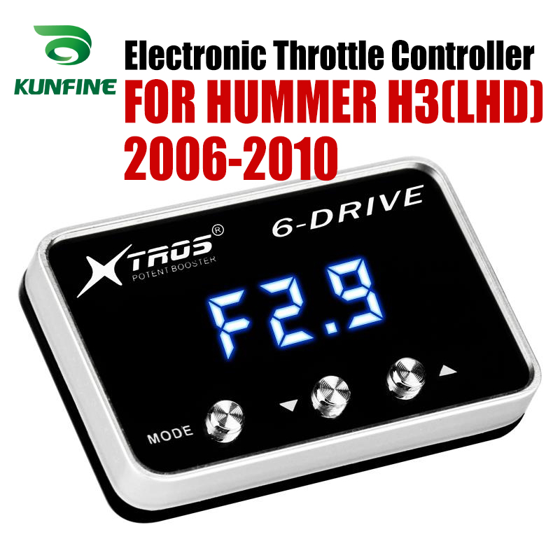 Car Electronic Throttle Controller Racing Accelerator Potent Booster For HUMMER H3(LHD) 2006-2010 Tuning Parts Accessory Car Electronic Throttle Controller Racing Accelerator Potent Booster For HUMMER H3(LHD) 2006-2010 Tuning Parts Accessory