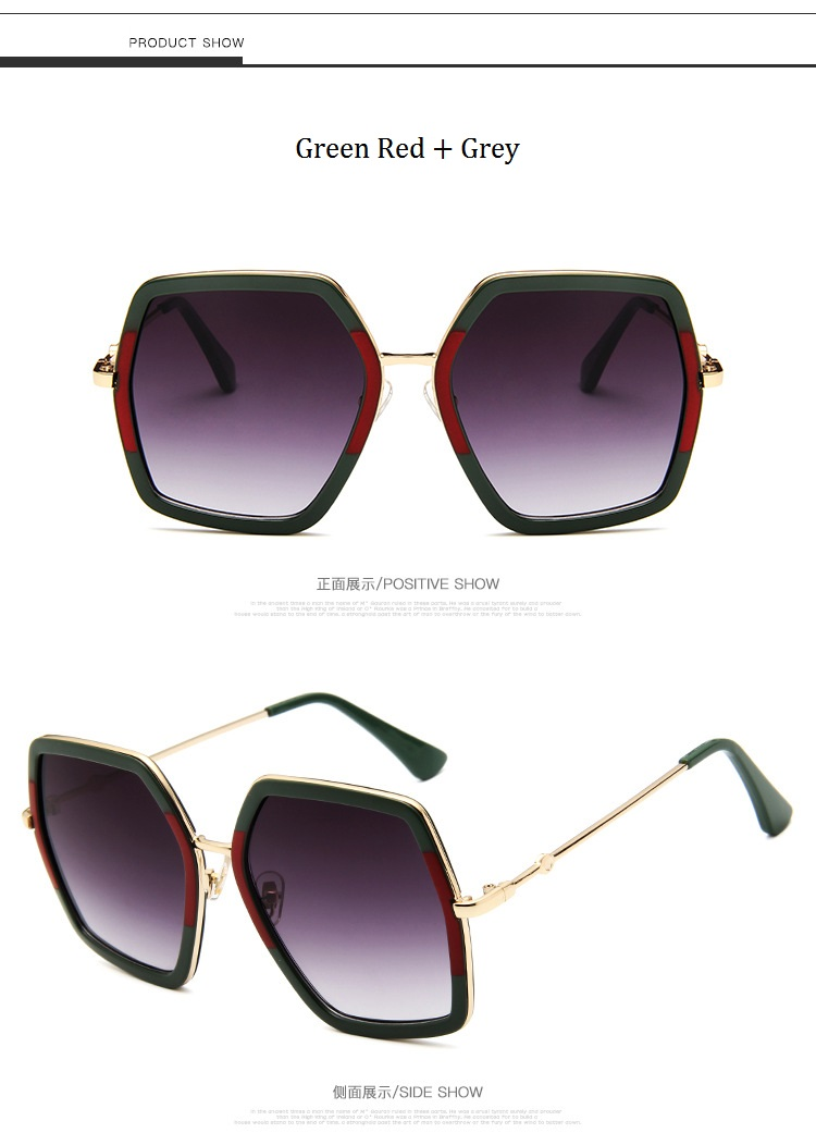 HTB1DcEsd8fH8KJjy1Xbq6zLdXXa1 - Square Luxury Sun Glasses Brand Designer Ladies Oversized Crystal Sunglasses Women Big Frame Mirror Sun Glasses For Female UV400