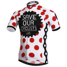 Save Our Cyclists Breathable Cycling Jersey Bike Shirt Conjunto Ciclismo Maillot Ropa Hombre MTB Bicycle Clothing