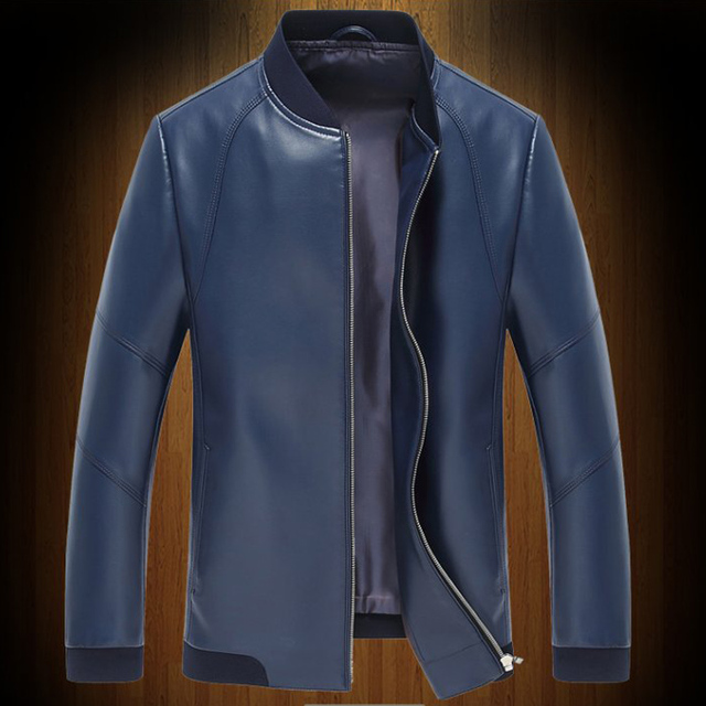 Автомобили Байкер Мужчины Кожаные Куртки Импортированы Плюс Размер 3XL Slim Fit Мужские Мужские Кожаные Куртки и Пальто Верхней Одежды Зима Весна C286