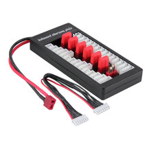 цена на 1Set Free shipping Parallel Charging Board Balance charge Plate Up to 2-6s Lipo Battery For iMAX B6 B6AC B8 Charg hot selling