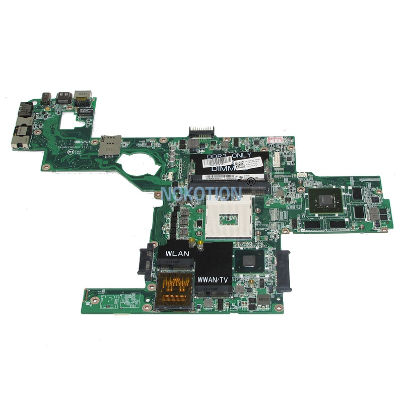 NOKOTION DAGM6CMB8D0 CN-0C47NF 0C47NF Main board For dell XPS 15 L502X laptop motherboard GT525M HM67 DDR3 full test nokotion cn 0j2ww8 laptop motherboard for board inspiron n5110 nvidia gt525m 1gb graphics hm67 ddr3 core i7 mainboard