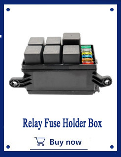 Relay Fuse Holder Box