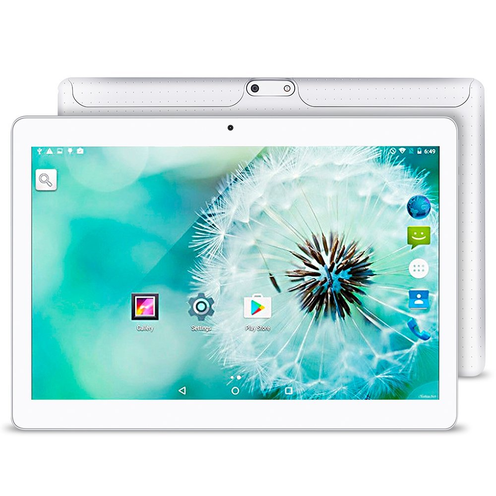 10.1 Inch Android 7.0 Tablet Dual SIM Card Slots Cell Phone Tablet PC 2G/3G/4G Wifi 4GB+32GB Octa Core IPS 800x1280 Touch Screen yuntab 4g phablet h8 android 6 0 tablet pc quad core touch screen 1280 800 with dual camera and dual sim slots black