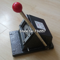 Manual Business Card Cutter Customized Cutting Size Round Corner