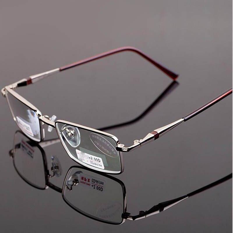Nuovo Full Frame In Metallo Occhiali Da Lettura Donna Uomo Anti-radiazioni Asferiche Presbiti Occhiali Uomini Leggendo Occhiali Gafas De Lectura