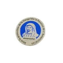 Пользовательские значок из железа с выгравированным персонализированные логотип Лацкан