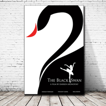 Black Swan Movie HD Canvas Paintings For Living Room Decoration Modern Wall Art Oil Painting Poster Home Decor