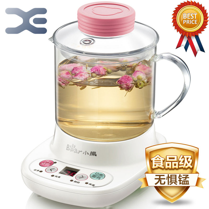 Appointment Timing Kettle 0.4L High Quality Glass Electric Cooking Pot Multifunction Kettle Electric high quality odm 96teeth xh timing wheel