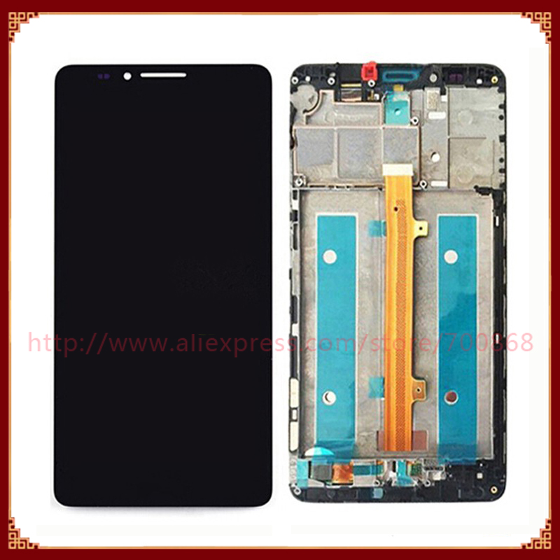 imágenes para Pantalla LCD Con Pantalla Táctil Digitalizador Asamblea Para Huawei Ascend Mate 7 con Marco Negro/Blanco/Oro envío Gratis