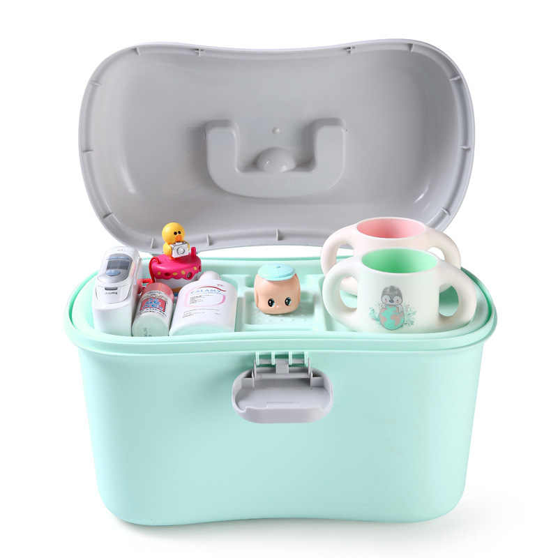 Baby Milk Powder Container Portable Food Sealed  Food Storage Box PP Medicine Kit Box Medical Boxes Home Medicine Cabinet