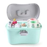 Baby Milk Powder Container Portable Food Sealed Food Storage Box PP Medicine Kit Box Medical Boxes Home Medicine Cabinet