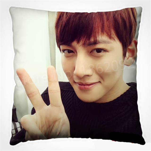 Cute Kpop Ji Chang Wook Cushion Cover Korea Drama Healer Ji Chang