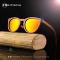 Nueva DU Natural Hecho A Mano de Madera Gafas de Sol Polarizadas Gafas De Sol De Madera De Bambú gafas de sol Gafas de Diseño de Marca Para Hombres Mujeres