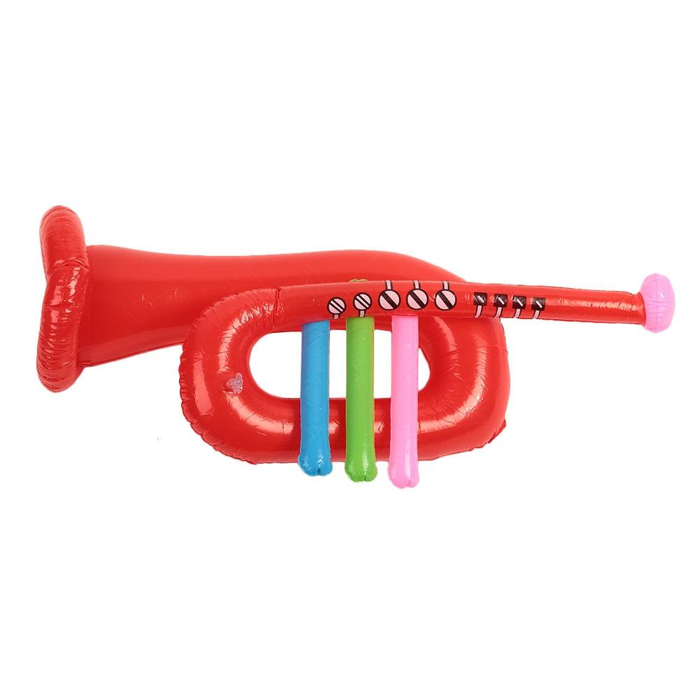 Новинка, надувной Трубач-игрушка вечерние реквизит, вечерние принадлежности, ПВХ музыкальный инструмент для детей, обучающий подарок для мальчиков девочек