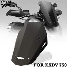 CNC 1 Piece Motorcycle MOTO Windshield Front Wind Screen  Windscreen Deflector Cover For honda XADV-750 X-ADV 750 xadv 18-19