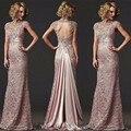 Роскошный Новый 2016 Мать Невесты Платья Съемная Юбки Открыть Назад Для Свадебных Торжеств и Вечеринок Платья Женщины Вечернее Платье