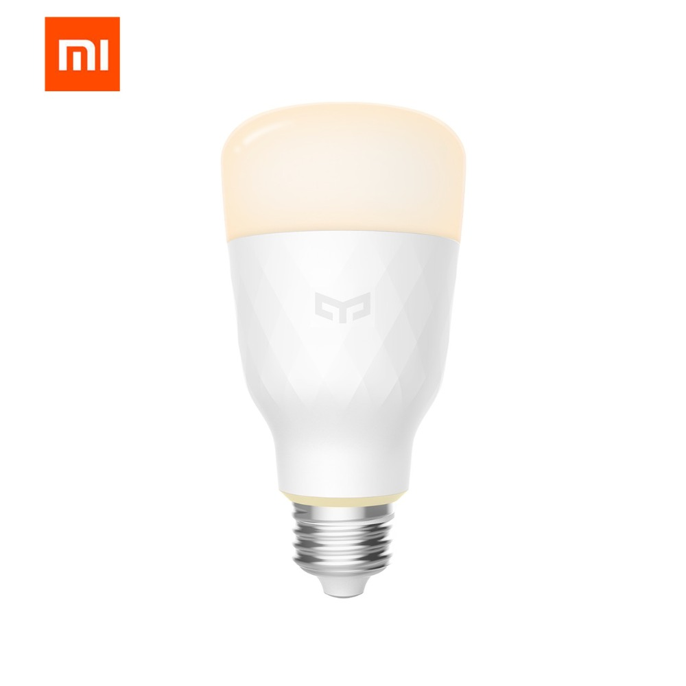 Xiaomi Yeelight Smart LED Bulb Ball Lamp WiFi Remote Control by Xiaomi Mi Home APP E27 Bulb 10W 1700k-6500K white & warm light new rf 315 e27 led lamp base bulb holder e27 screw timer switch remote control light lamp bulb holder for smart home