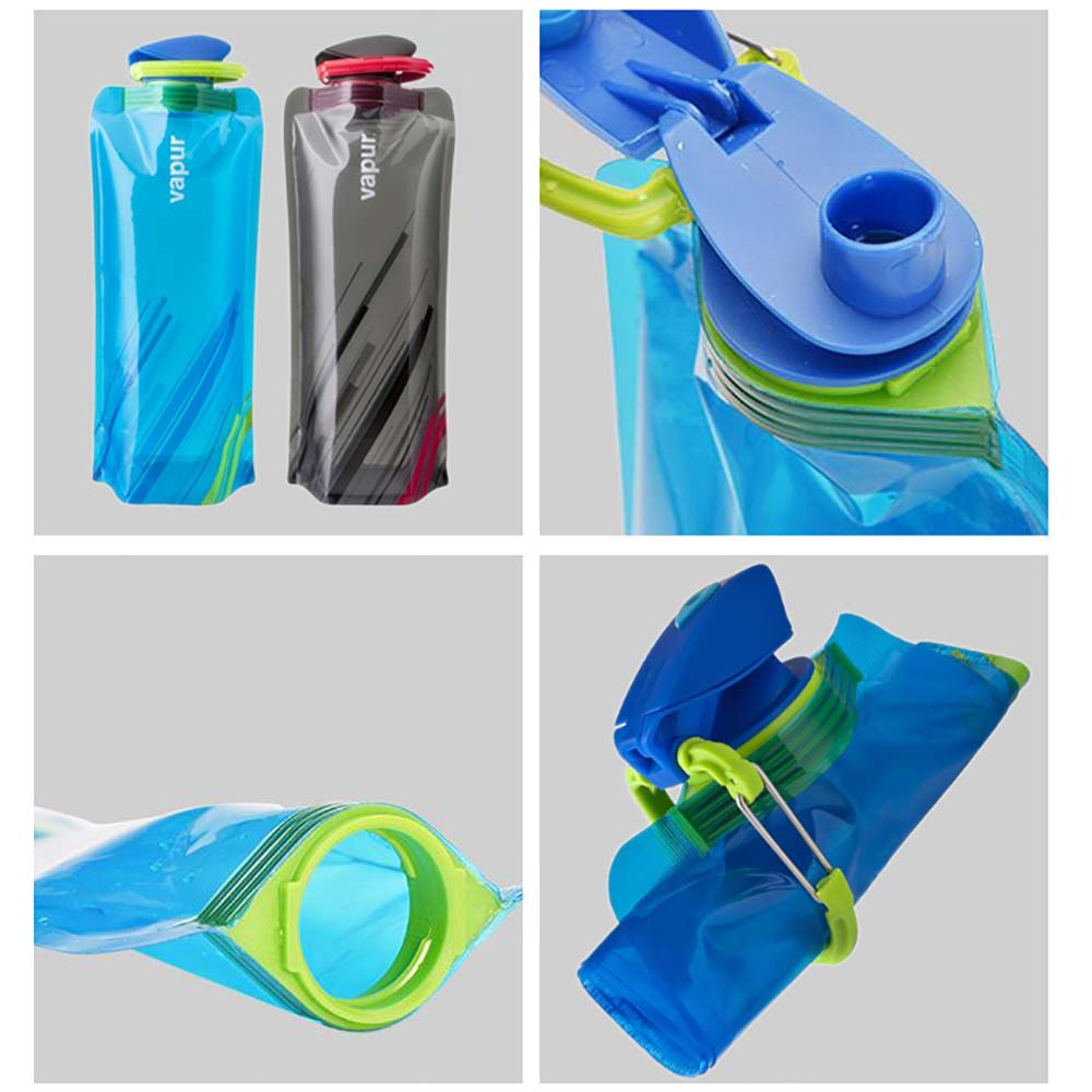 Collapsible Drinking Water Bottle