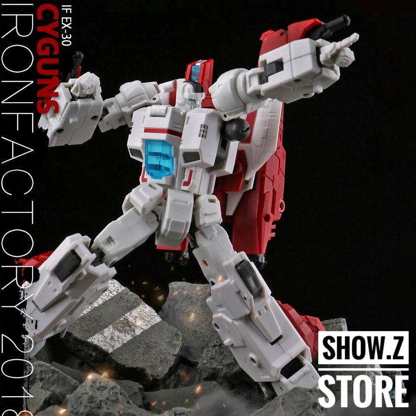 [Show.Z Store] IronFactory IF EX-30 Cyguns Skyfire Jetfire Transformation Action Figure лезвие для ножа sturm 1076 s2 25