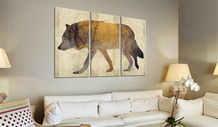 Wholesale 3 Pieces/set Animal poster Wall Art For Wall Decor Home Decoration Picture Painting PJMT-B (320)